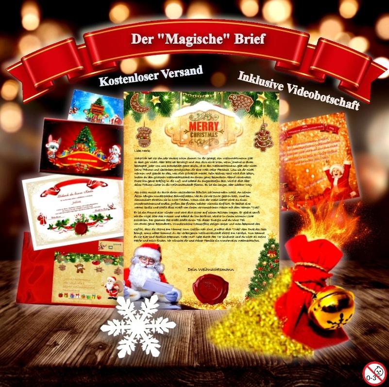Brief Vom Weihnachtsmann Bestellen Original Brief Vom Weihnachtsmann