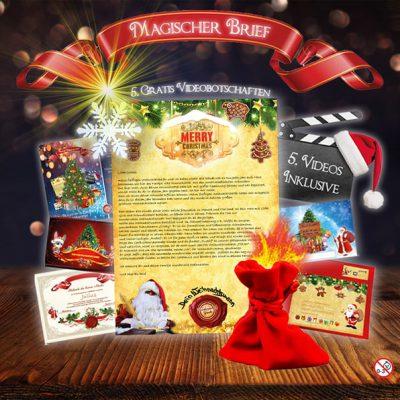 Brief vom Weihnachtsmann als außergewöhnliches Weihnachtsgeschenk.