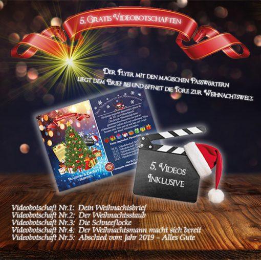 Fünf wunderbare Videobotschaften gratis vom Weihnachtsmann.