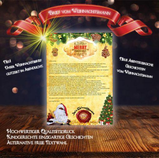 Der Brief vom Weihnachtsmann ist ein besonderes Weihnachtsgeschenk für Kinder.